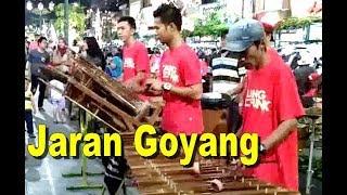 Video JARAN GOYANG - Calung ANGKLUNG Malioboro Jogja - BAMBOO Music [HD] download MP3, 3GP, MP4, WEBM, AVI, FLV April 2018