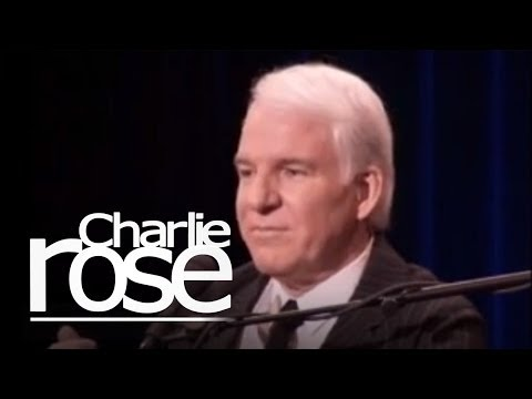 Excerpts of Steve Martin | Charlie Rose