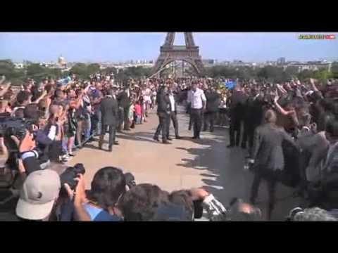 Zlatan Ibrahimovic Arrives In Paris 2012