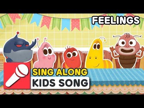 FEELINGS | LARVA KIDS | SING ALONG | KIDS SONG | 2 MIN  | LEARNING SONGS