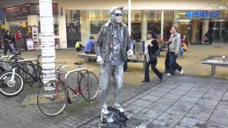 Real life statue brilliant