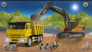 Sand Excavator Simulator 2021: Truck Driving Games# Gameing tech#  Android Game screenshot 2