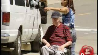 Epic Old Man   Runaway Disabled Man Gag