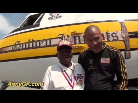 Tuskegee Airman Julius Jackson, LTC (RET), Jumps with the Golden Knights