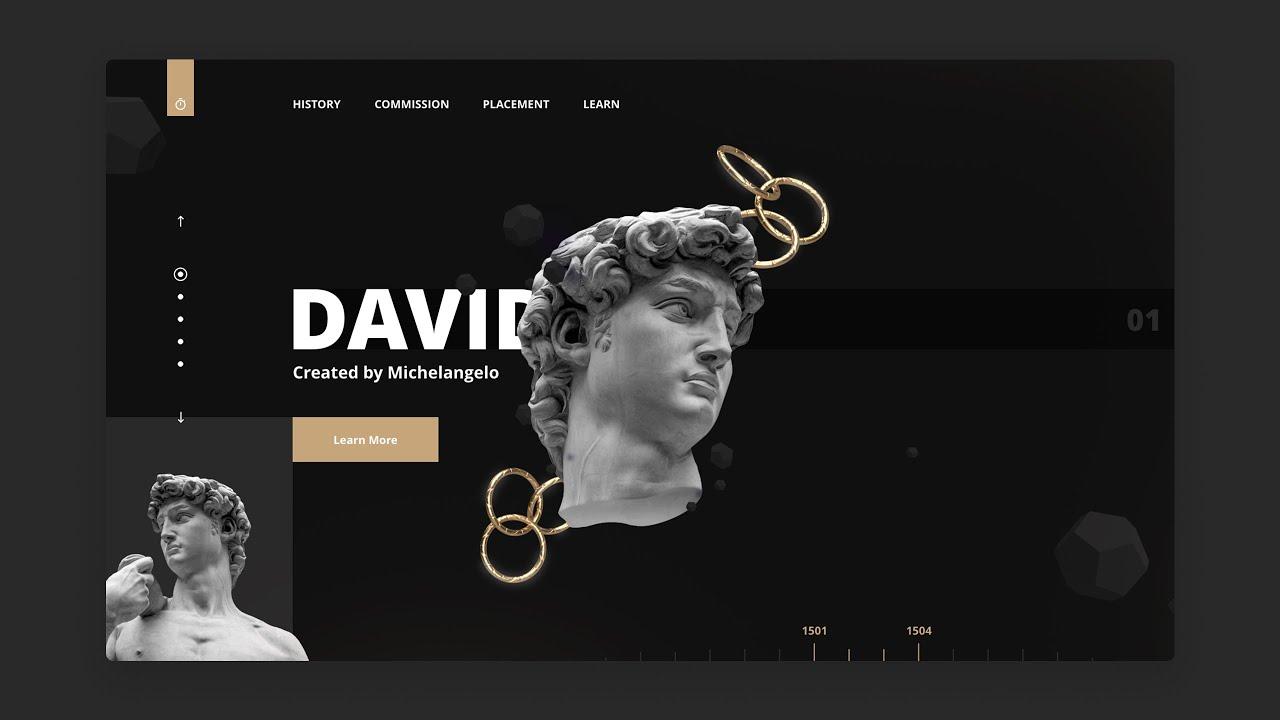Adobe XD Modern Web Design – Speed Art