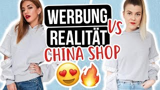 WERBUNG vs. REALITÄT: CHINA ONLINE SHOP 😰 LIVE KLAMOTTEN TEST | Coco