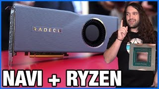 AMD Navi RX 5700 XT & Zen2 Architecture, Specs, Overclocking, Mem OC, Ray Tracing