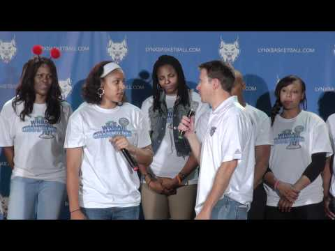 LosLynx celebrate 2011 WNBA championship