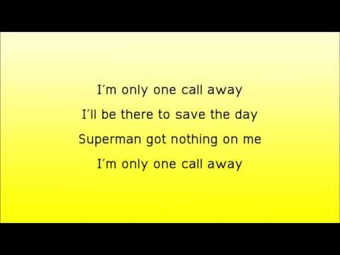 Charlie Puth-One Call Away(letra)