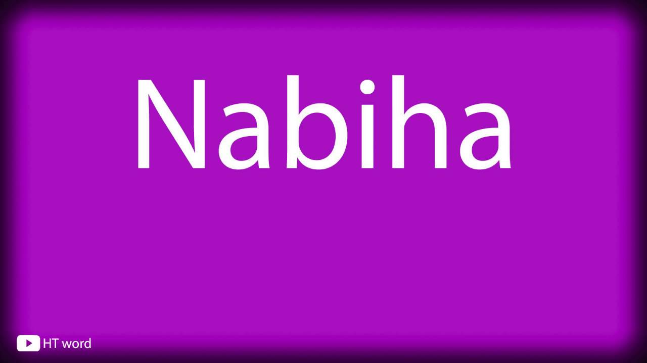 nabia meaning