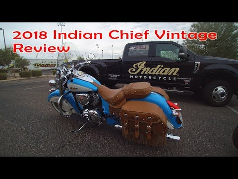 2018 Indian Chief Vintage   First Ride & Review