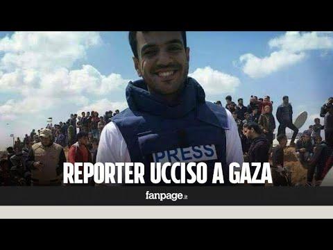 """Yaser, il fotoreporter ucciso a Gaza: """"Sapeva di essere un bersaglio per Israele"""""""