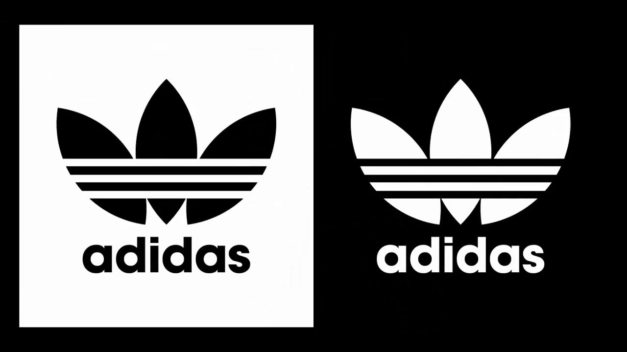 Tracing Membuat Logo Adidas Trefoil Youtube Gambar