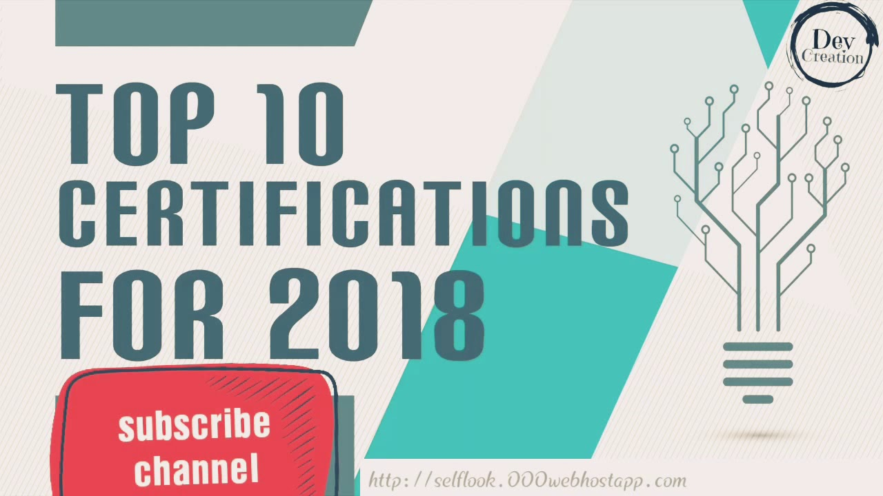 Top 10 Certifications For 2018 Highest Paying It Certifications