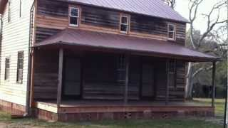 The Hill house at Andalusia is restored - front porch