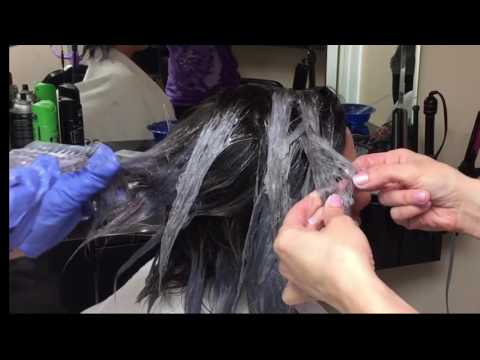 How to achieve gray hair color .