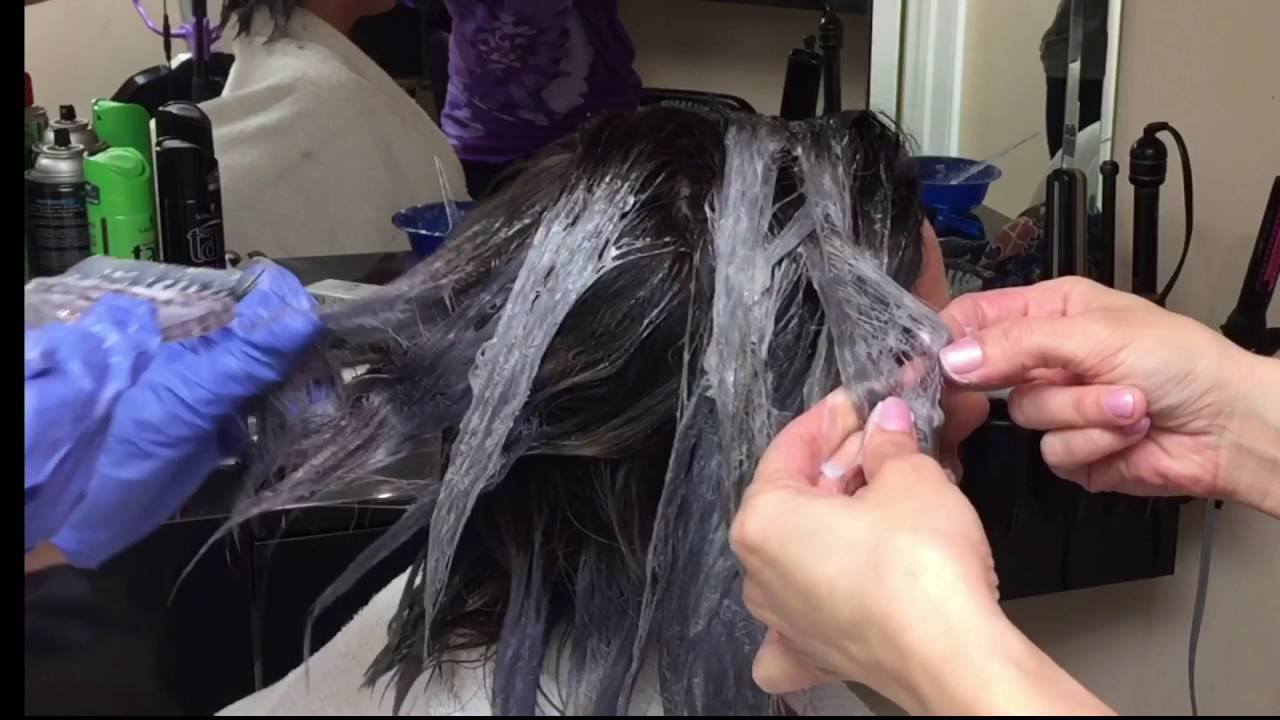 How To Achieve Gray Hair Color Youtube