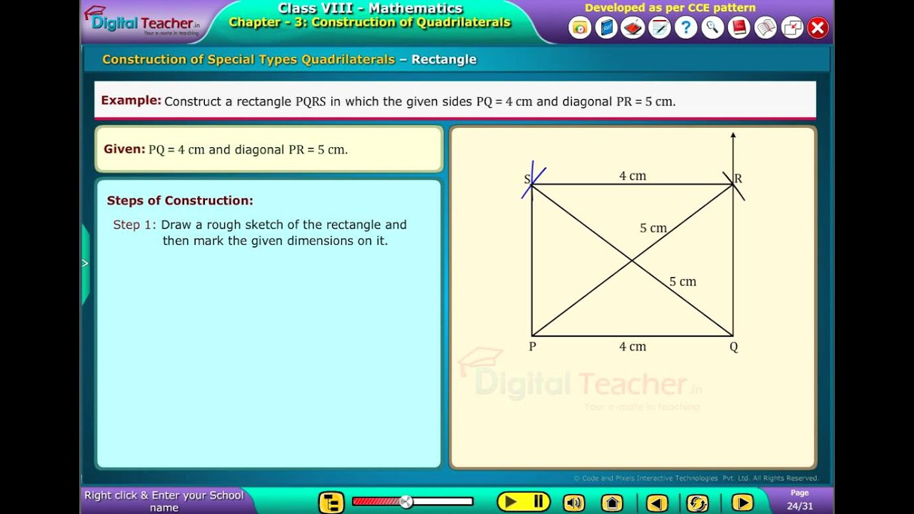 digital Teacher Code and Pixels k12 Maths Construction of Special ...
