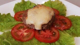 Мясные гнездышки с грибами под сыром просто и вкусно!Meat Nests!