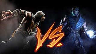 Скорпион против Саб-Зиро   Mortal Kombat X