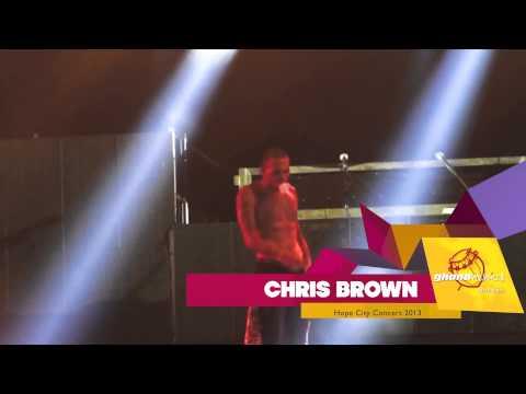 "Chris Brown - ""Smoking Weed Act"" at Hope City Concert in Accra, Ghana | GhanaMusic.com Video"