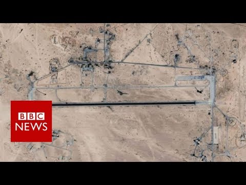 Syria conflict: Israel blamed for attack on airfield - BBC News