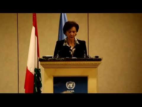 Rima Khalaf, Executive Secretary, ESCWA