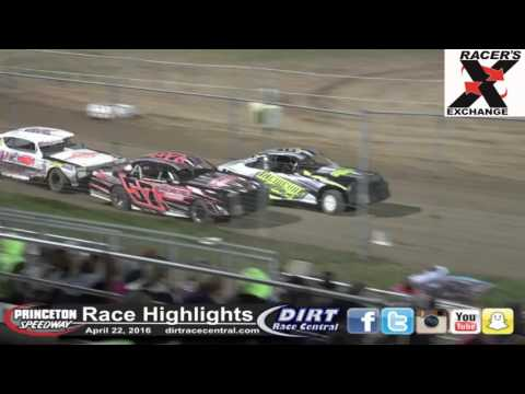 Princeton Speedway 4/22/16 Race Highligths
