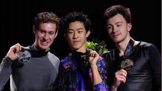 Церемония награждения. Мужчины. Skate America. Гран-при по фигурному катанию 2019/20
