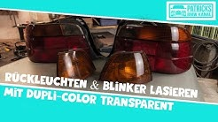 Blinker Orange Färben
