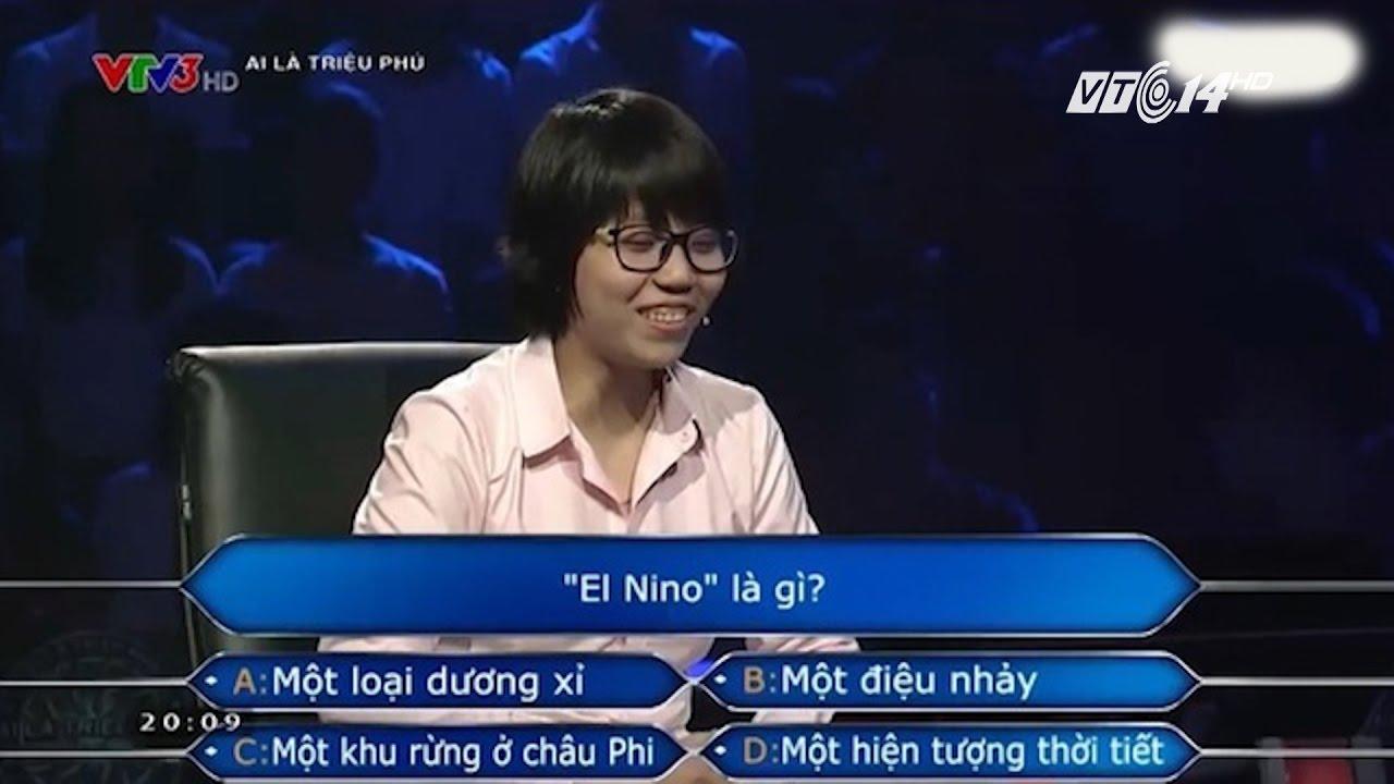 """(VTC14)_El nino là gì mà thí sinh """"Ai là triệu phú"""" không biết? - YouTube"""