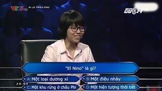 """(VTC14)_El nino là gì mà thí sinh """"Ai là triệu phú"""" không biết?"""