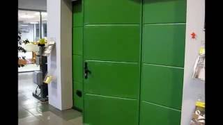 Секционные ворота с калиткой(, 2016-09-01T14:00:49.000Z)