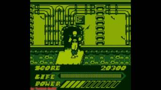 Mighty Morphin Power Rangers: The Movie (Game Boy) - (Stage 3 - Quick Route   Hard Difficulty)