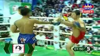 Soy Sok Cambodia Vs Kompeng Khmao Cambodia, Khmer Warrior Seatv Boxing 21 July 2018
