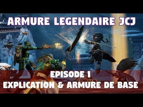 Guild Wars 2 [ARMURE LEGENDAIRE JCJ] Ep.1 Introduction et armure de base