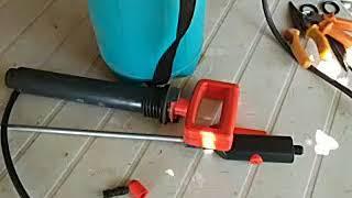İlaçlama Pompası çok basit tamiri ve bakımı