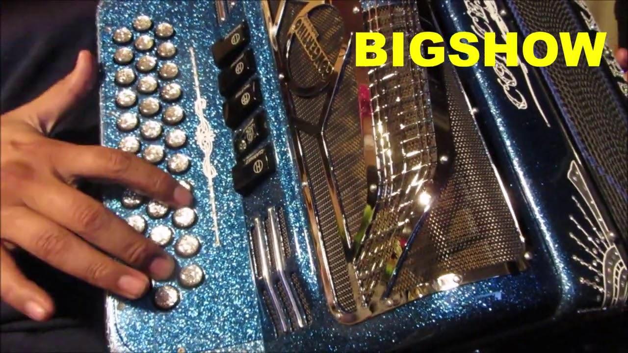 Cabron y vago acordeon tutorial instruccional INTRO acordeon concertino de FA nivel  principiante