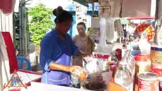 Thai Street Vendor Iced Tea and Coffee Drinks