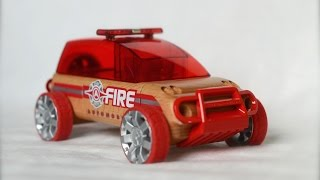Automoblox X9 Fire Suv Wooden Car Toys Машинки для детей