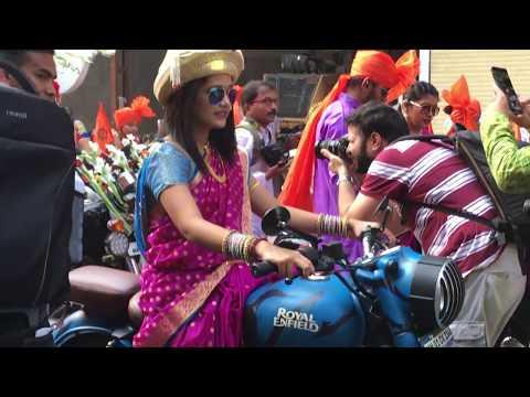 Gudi Padwa Shobha Yatra 2018 Girgaon Mumbai