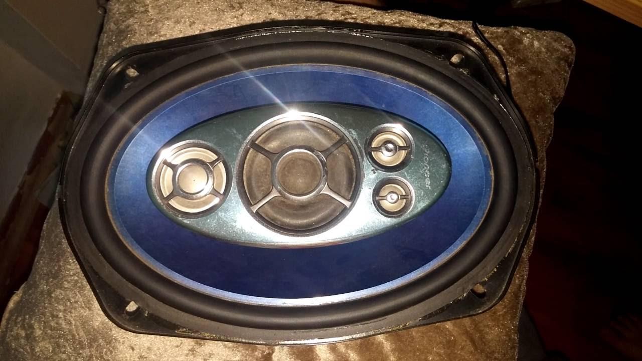 Pioneer eski seri oval, muhtesem bass