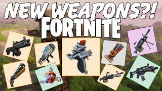 AIR STRIKES IN FORTNITE?! | Possible Leaked Weapons & Consumables | Fortnite News
