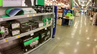 Visiting Lowes - A home improvement store