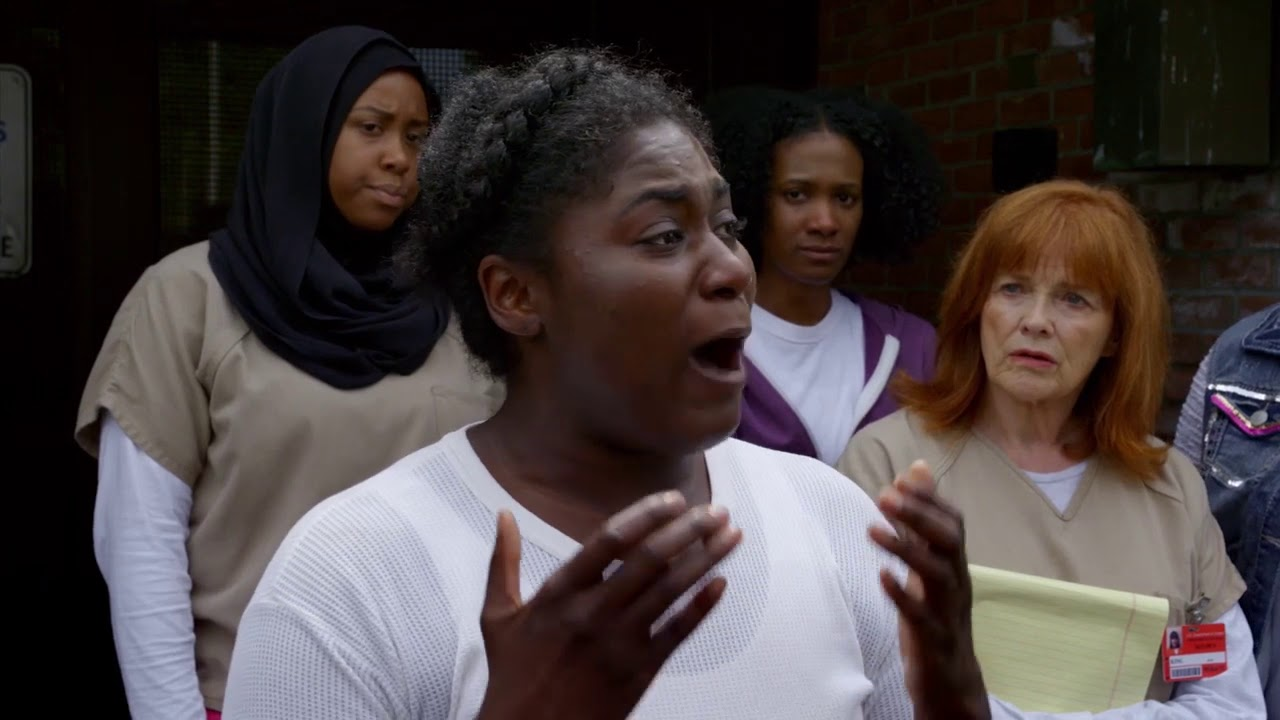#Netflix Guide: Orange Is The New Black Taystee's Speech Netflix