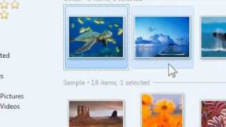 How to add a picture in Windows photo gallery as your desktop background