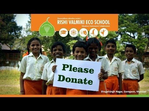 Donate For Rishi Valmiki Eco School RVES