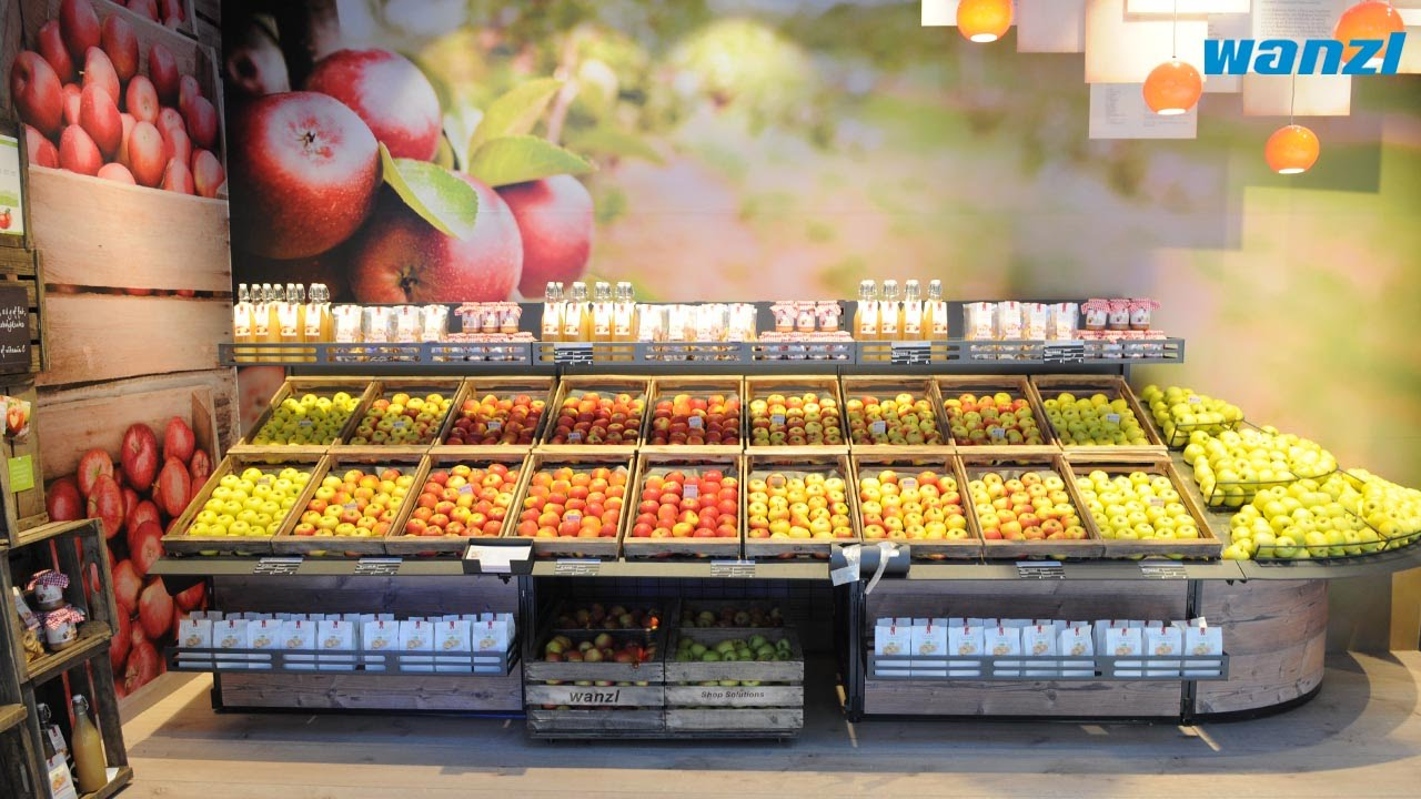 Vegetable Stand Designs : Fruits and vegetables presenter vitable en youtube