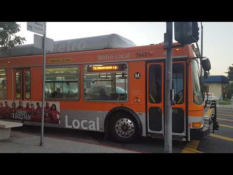 Los Angeles County Metropolitan Transportation Authority 2002 NABI 40-LFW CNG #7665