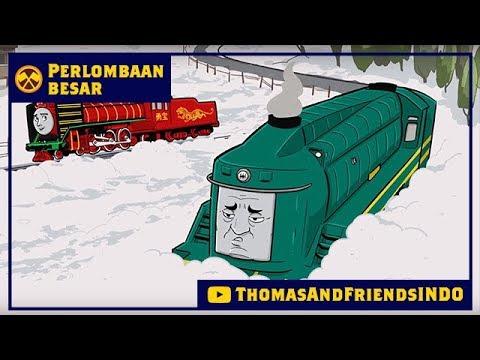 Kereta Thomas & Friends Bahasa Indonesia - Perlombaan Besar Dekat & Jauh - Shane